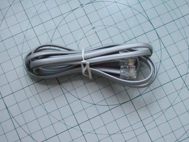 шнур телефонный 4-х жильный