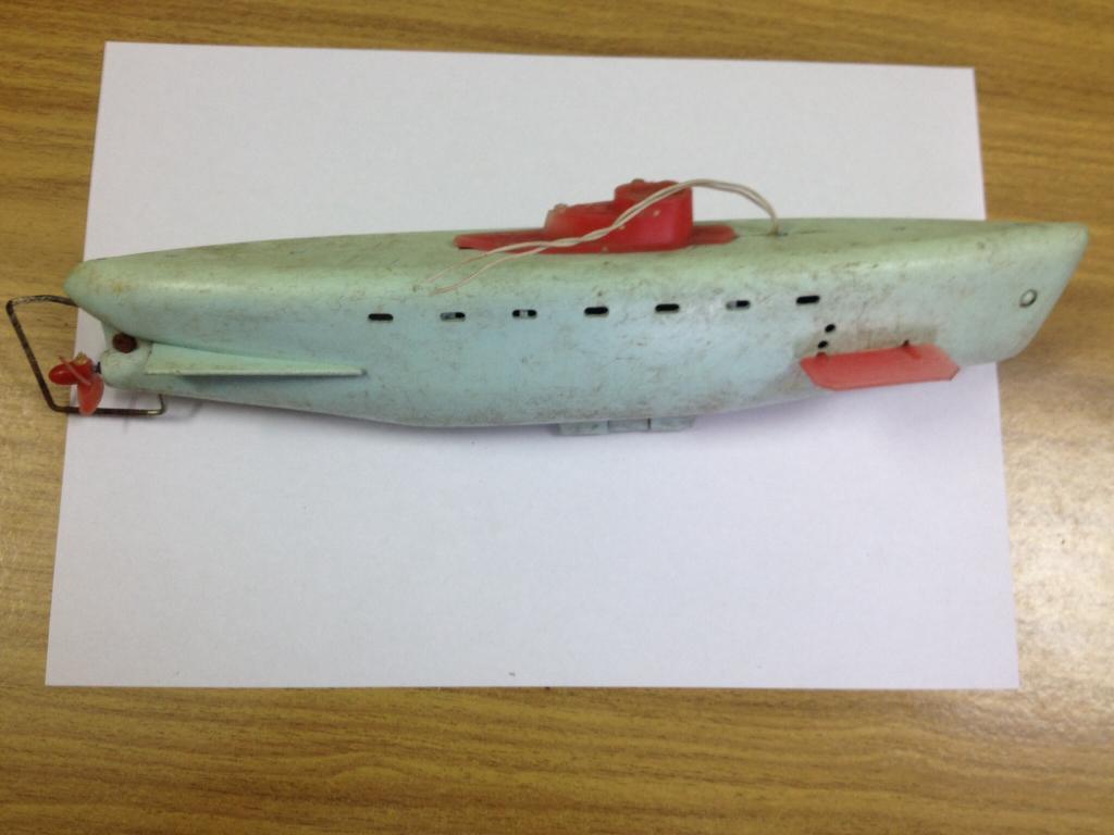 советская игрушка подводная лодка