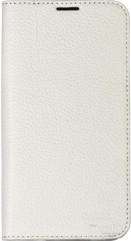 Чехол-книжка Deppa Wallet Cover для Samsung Galaxy S5 + защитная пленка (белый)