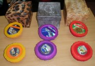 """Ниуэ 2012 год. Полный набор монет """"Кошки наши друзья"""" 3х2$ TVD, серебро/эмаль"""