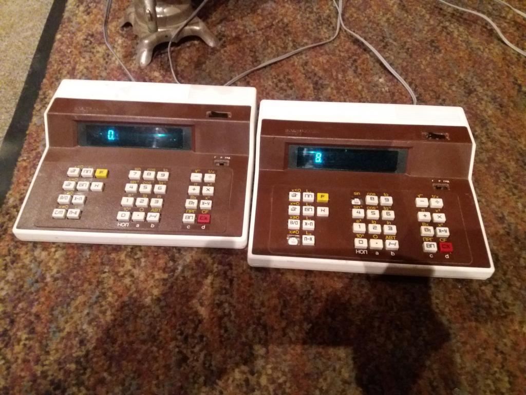 ЭВМ калькулятор СССР электронная вычислительная машина 90х гг