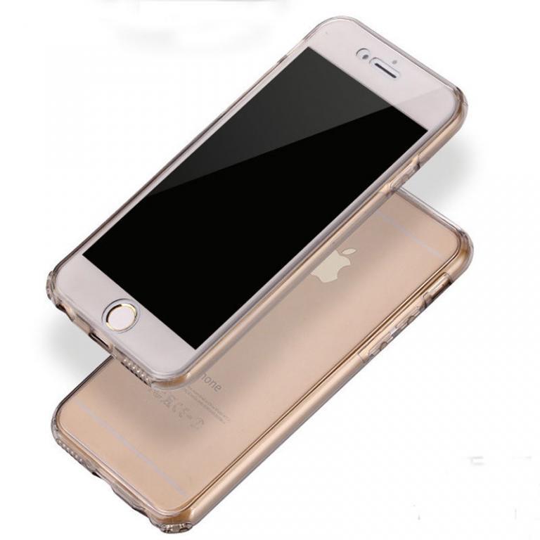 чехол iPhone 6 / 6s прозрачный силикон
