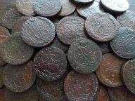 39 КОЛЛЕКЦИОННЫХ ПЯТАКА 1758-96г !! ВСЕ ГОДА!!! БЕЗ ПОВТОРА!! ОРИГИНАЛ!!