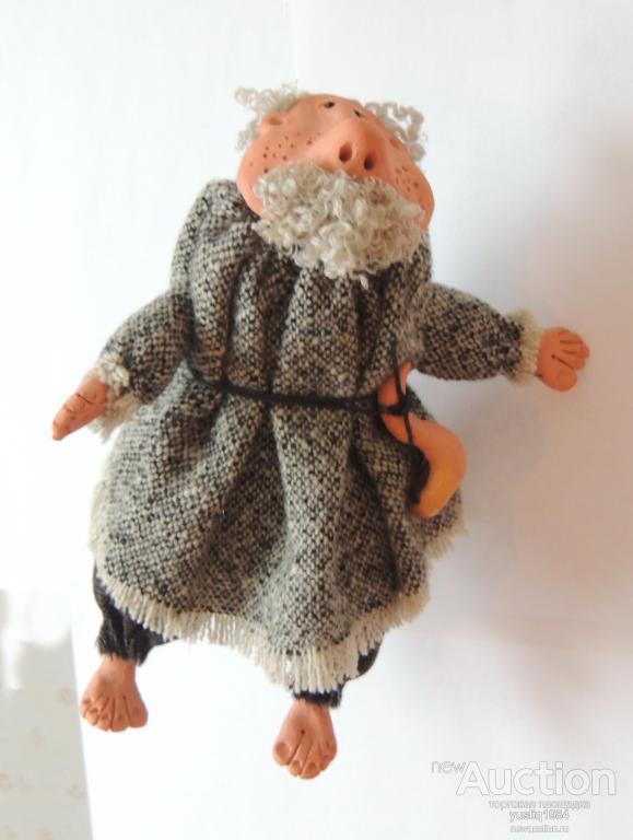 """Подвесная кукла """"Домовой Силантий"""". Серия: кукла. Авторская работа"""