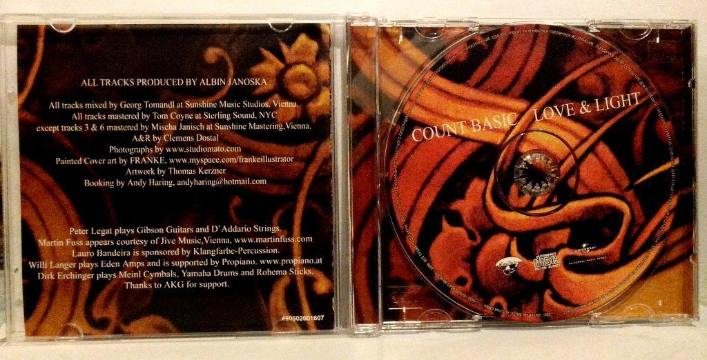 CD. Count Basic - Love & Light - 2007. OBI. лицензия Universal.