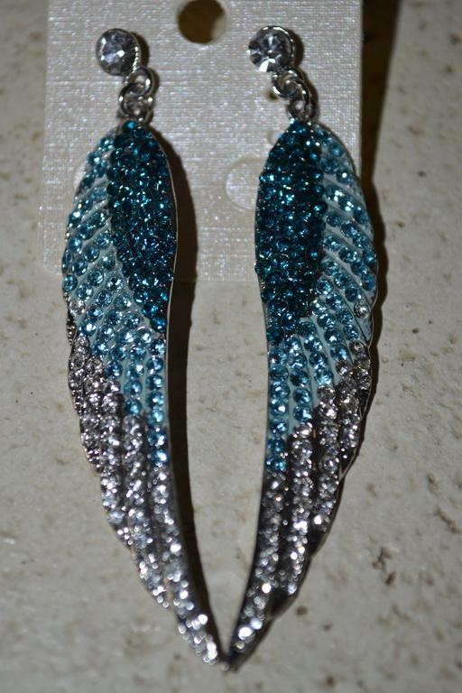 Шикарные серьги крылья ангела. Ангел.