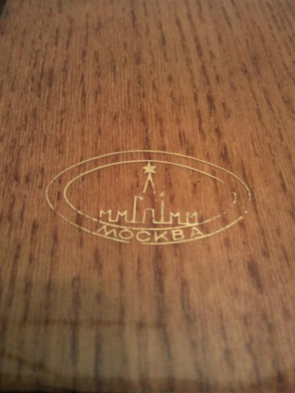 Письменный прибор две ручки на подставке. Москва. СССР