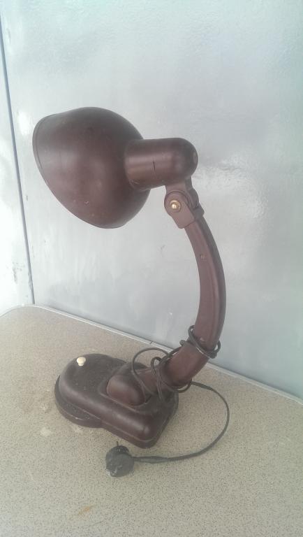 Лампа светильник карболит СССР 2