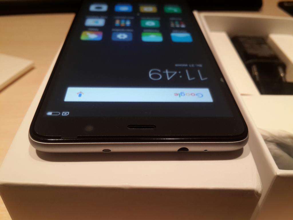 Xiaomi redmi note 3 pro Gray
