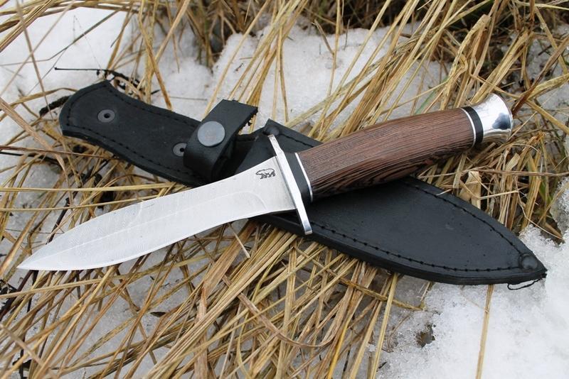 Нож - дамаск, венге, блеск, хороший подарок
