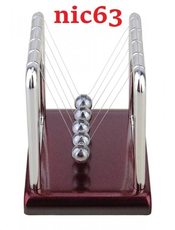 Игрушка маятник Ньютона 82X (Размер L)