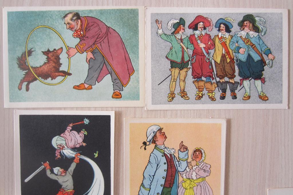 Вальк набор открыток