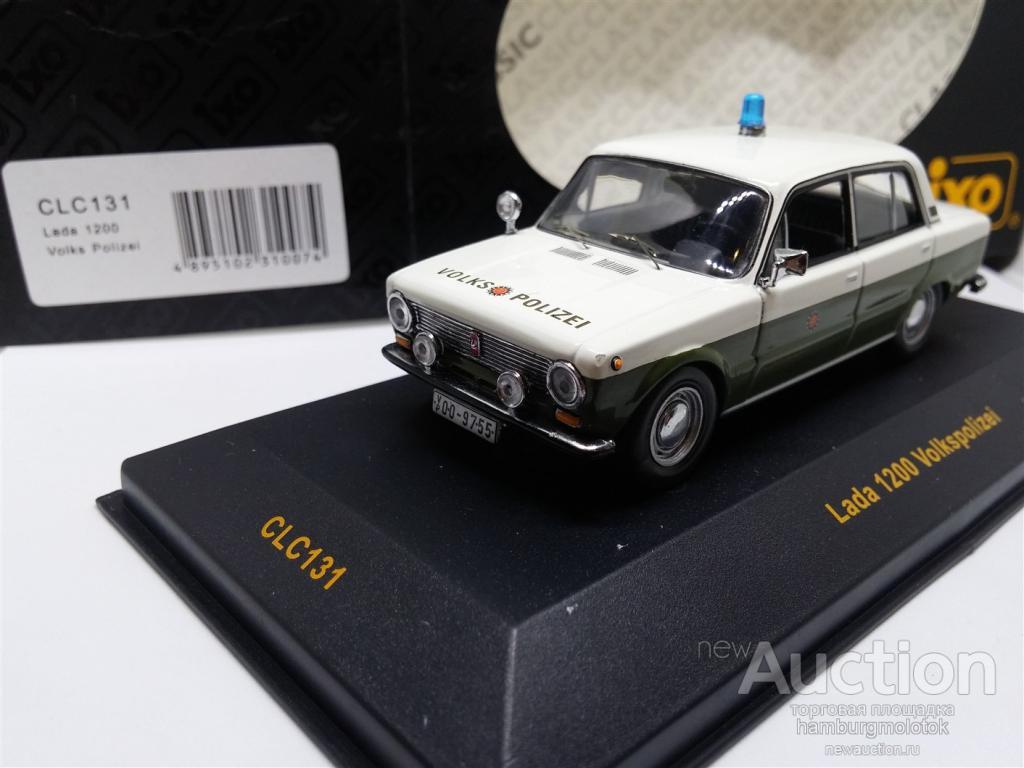 121 Lada 1200 VolksPolizei IXO 1:43 CLC131
