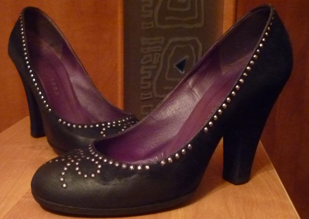 Туфли черные jacobs оригинал р.38.5
