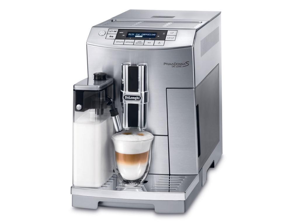 Кофемашина DeLonghi PrimaDonna ECAM 26.455.BLB