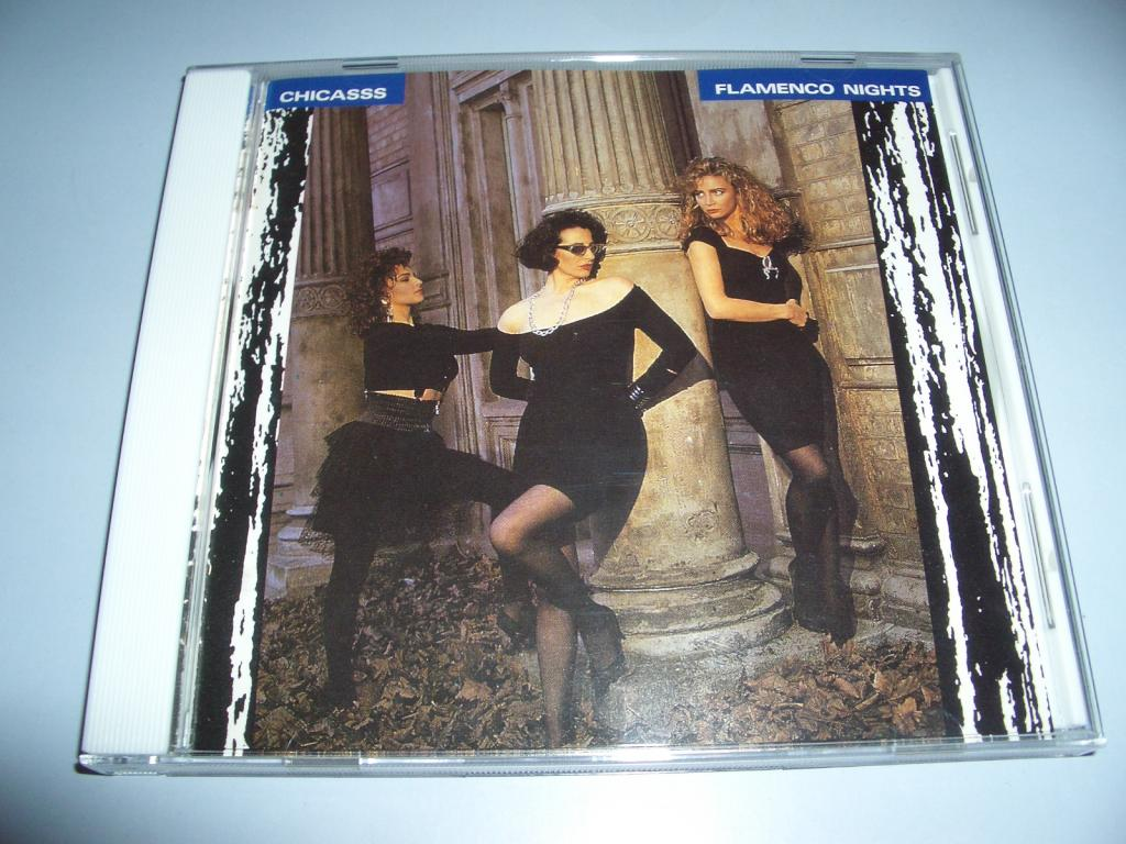 CHICASSS -Flamenco Nights+obi (Japan 1989 CD) eurodance,italo disco