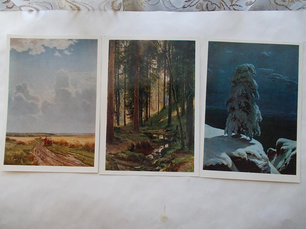 Набор открыток шишкин 85