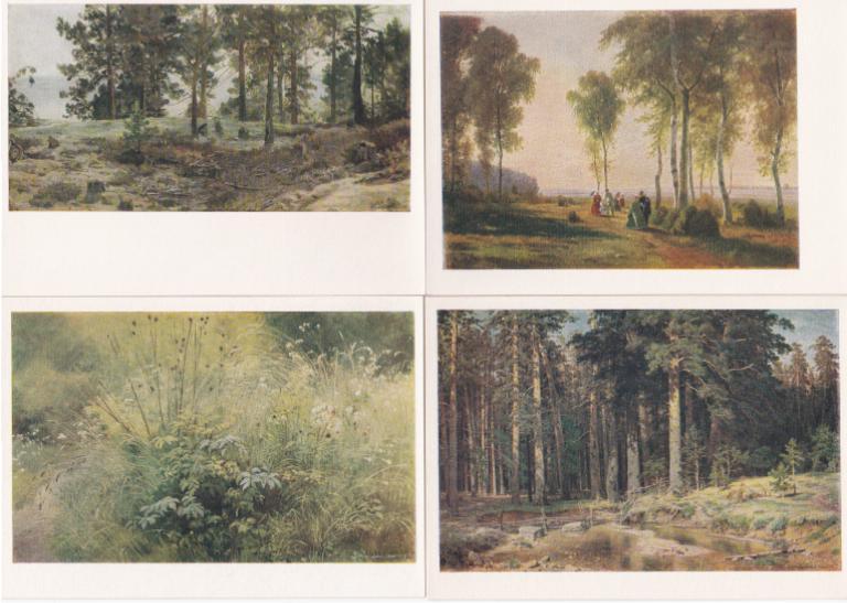 Набор открыток шишкин 89