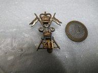 Кокарда знак на фуражку 12-го Уланского Принца Уэльского полка