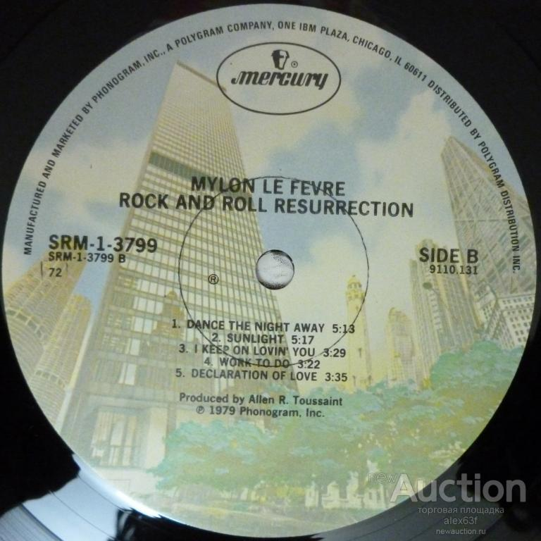 Mylon LeFevre (ex. Mylon & Broken Heart, The Cause) 1979 Rock & Roll Resurrection USA