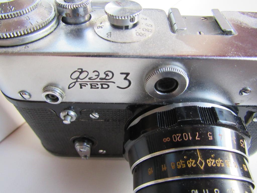 Советский Фотоаппарат ФЭД-3. Из дедушкиного сундучка!