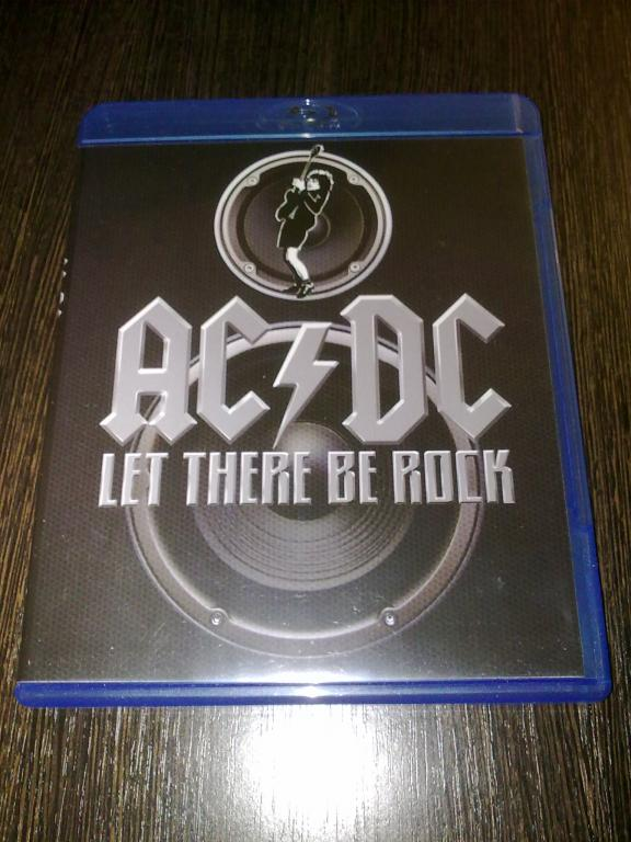 концерт AC/DC let there be rock blu-ray диск лицензия