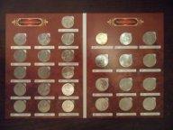 Бородино, 200-летие победы в Отечественной войне 1812 г. (28 шт.) Полный набор монет в альбоме