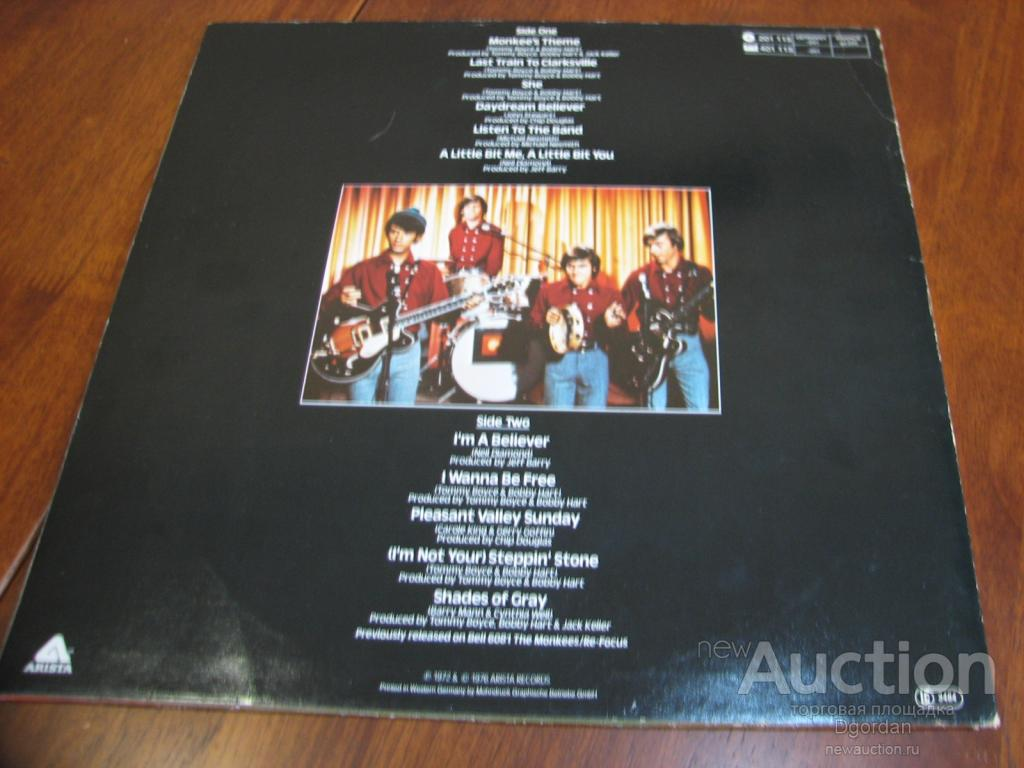 The Monkees - Greatest Hits,  LP (NM) Germany 1976