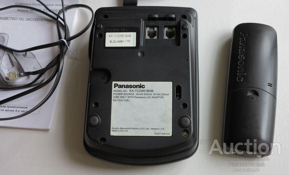 Радиотелефон Panasonic KX-TCD951GB