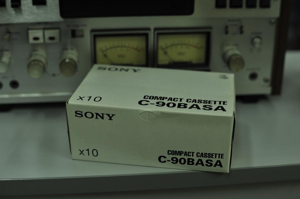 SONY C-90BASA Aудио кассеты фирменные 10 штук из Японии. Новые.