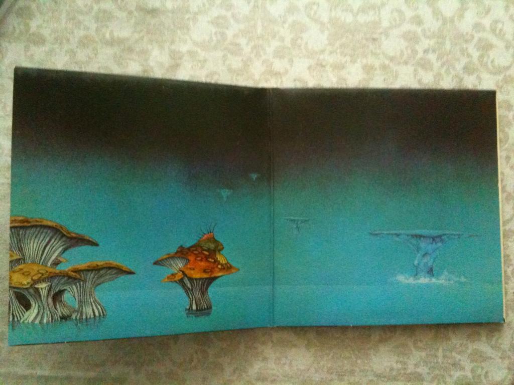 Пластинка YES 1973 - Yessongs - 3 LP (USA)