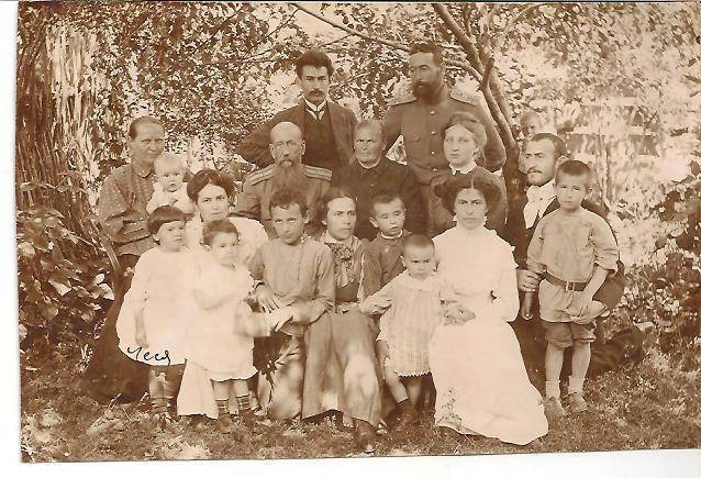 Офицер, семейное фото