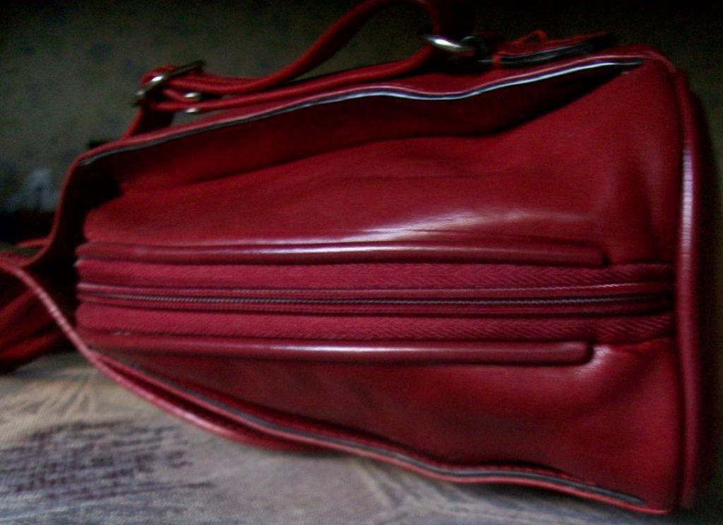 Сумка KEVIM PARIS кожа натур. 3отд. оригинал рюкзак марсала красная
