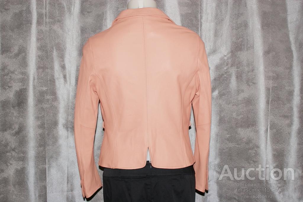 Кожаная куртка Marina Rinaldi новая р46-48 Италия