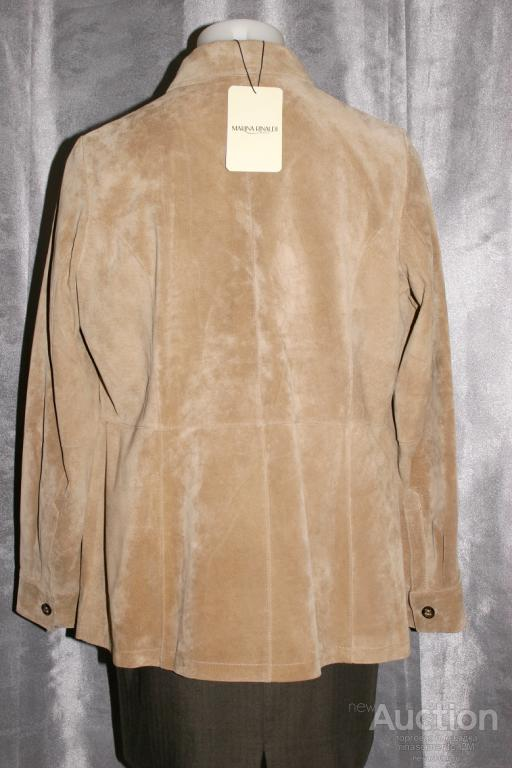 Кожаная куртка Max Mara новая р.52-56 пр-во Италия