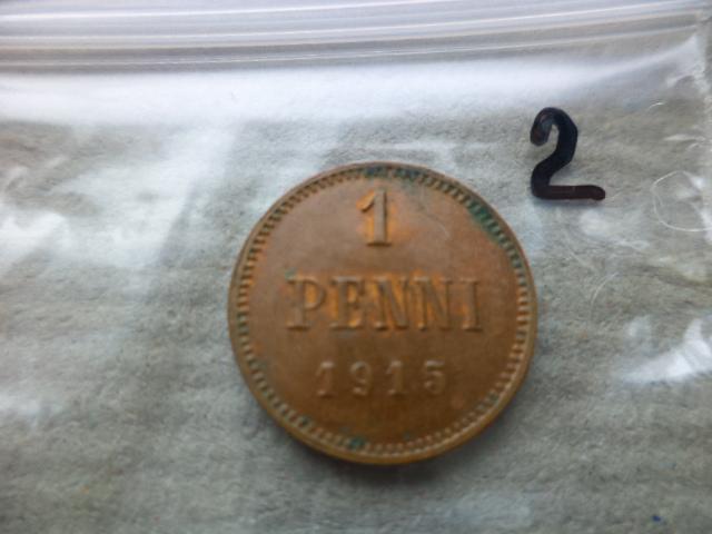 Русская Финляндия 1 пенни 1915 (2)