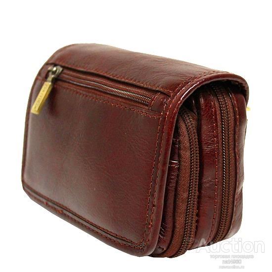 Мужская сумка из натуральной кожи Pan Pelican (Италия), Оригинал