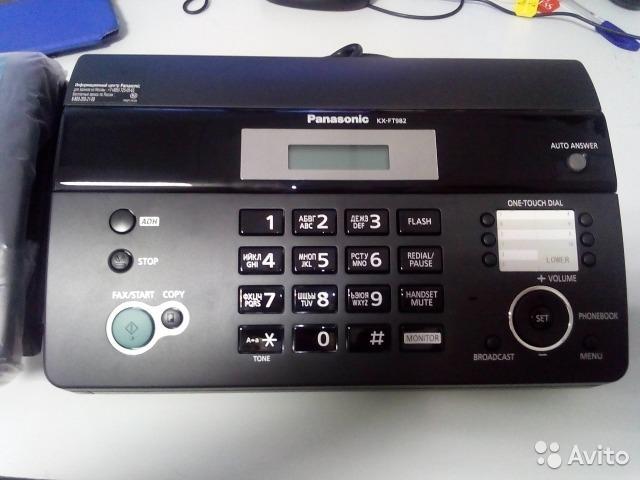 факс  PANASONIK NEW