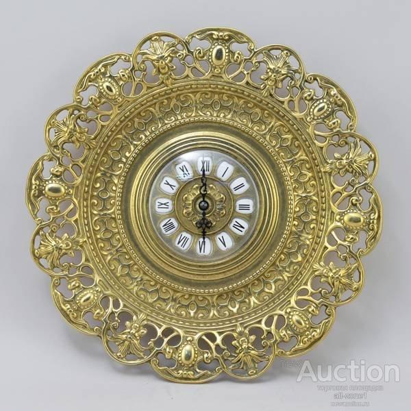 Часы-тарелка настенные БАРОККО AL-82-104