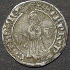 Лотарингия,Мец,серебряный грош (около 1410 года)