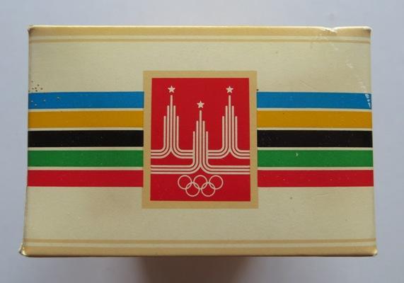 Олимпийский ТАЛИСМАН одеколон ф-ка НОВАЯ ЗАРЯ запечатан в упаковке ОЛИМПИЙСКИЙ МИШКА Москва 1979 год