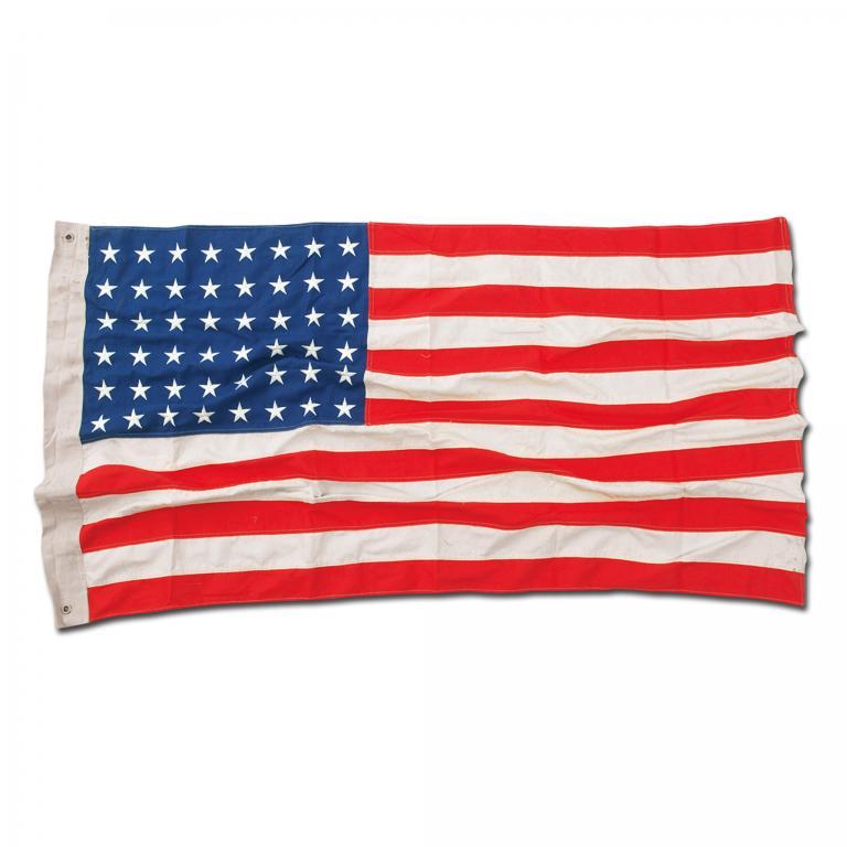 Флаг США винтаж 48 звезд