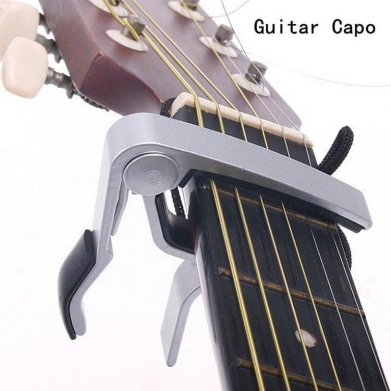 Каподастр Гитарный Алюминиевый / Реплика Jim Dunlop.