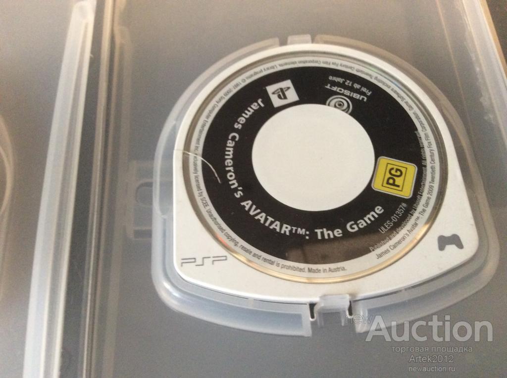 Диски игры PSP