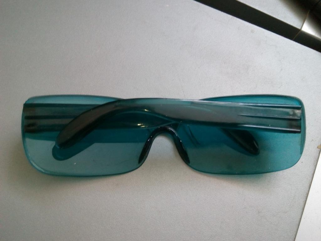 Старые солнцезащитные Очки. Винтаж. Синие стекла. Отличное состояние