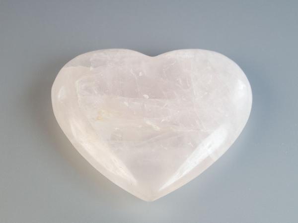 Фигурка Сердце розовый кварц, Лучшая цена!
