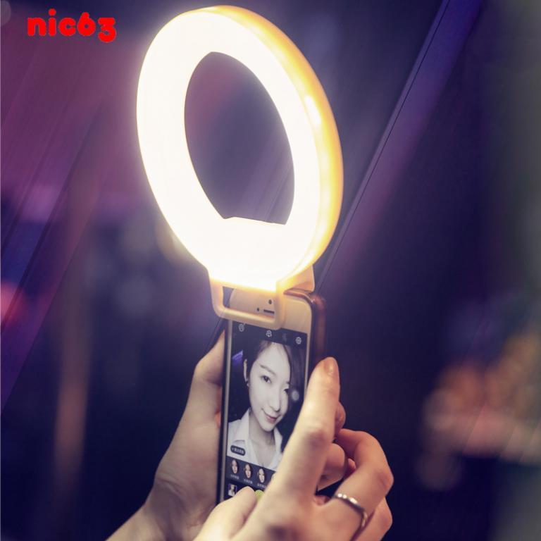 Светодиодная телефонная подсветка в виде кольца для селфи iPhone 6 Plus
