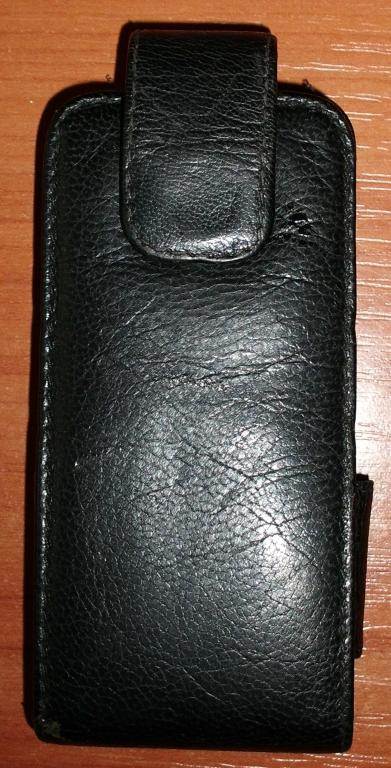 Чехол для мобильного телефона натуральная кожа 11х5.5х2 см