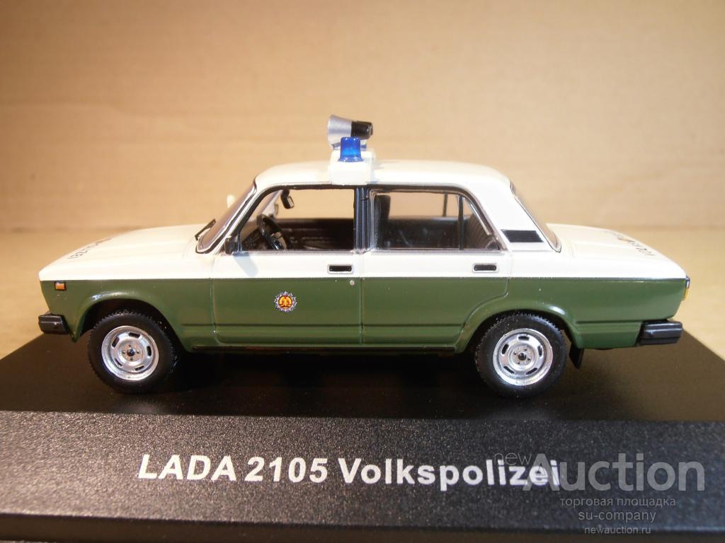 ВАЗ 2105 LADA 1200 Sedan =Volkspolizei= Cars Co CCC059 IST IXO 1:43 Police  DDR Полиция ГДР CCC metal