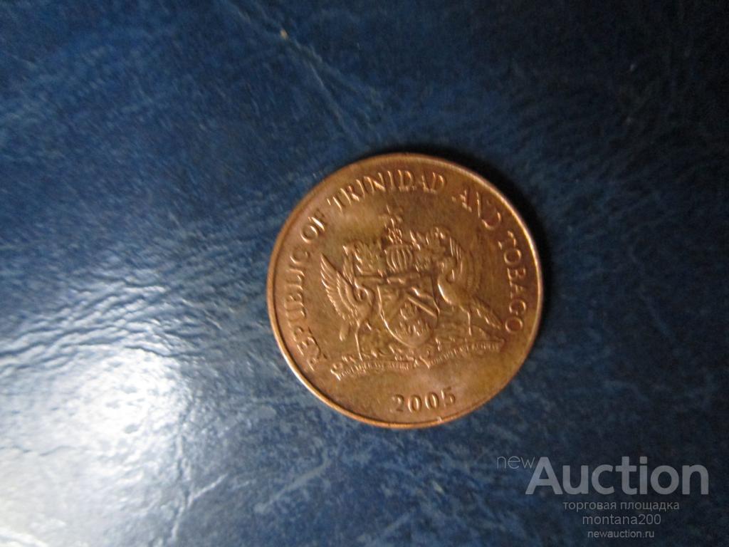 тринидад 1 цент 2005